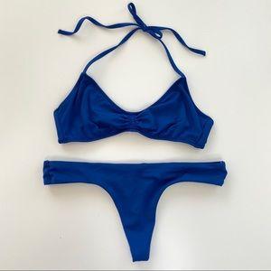 Victoria's Secret Blue Bikini Set